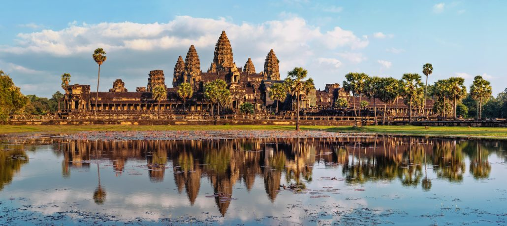 Ancient Khmer Panorama Angkor Wat